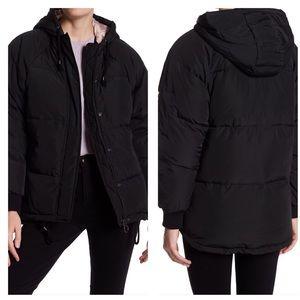 topshop down coat